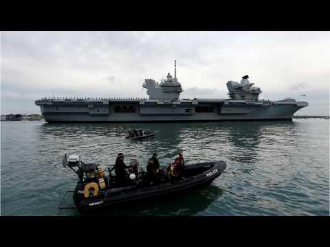 Britain's New 4 Billion Dollar Warship Has Sprung A Leak