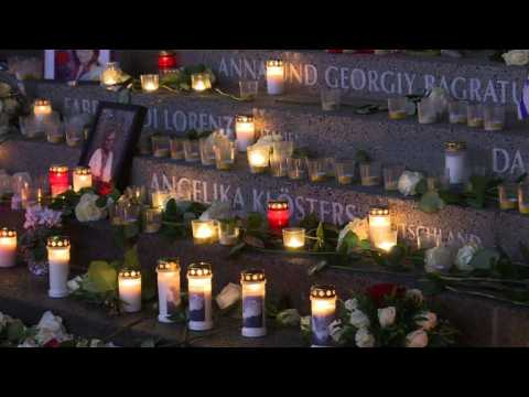 Berliners commemorate the Christmas Market attack
