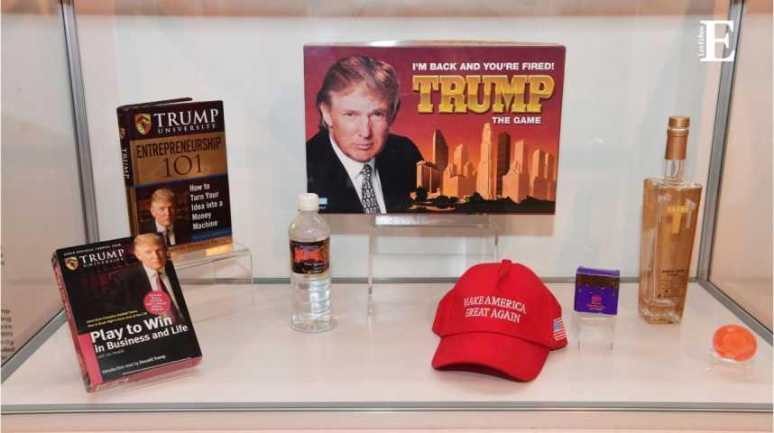 """Illustration pour la vidéo Donald Trump à l'honneur du """"Musée des échecs"""""""