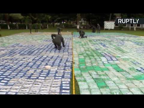 12 Tons of Cocaine Worth $360M Seized in Largest Ever Colombian Drug Raid