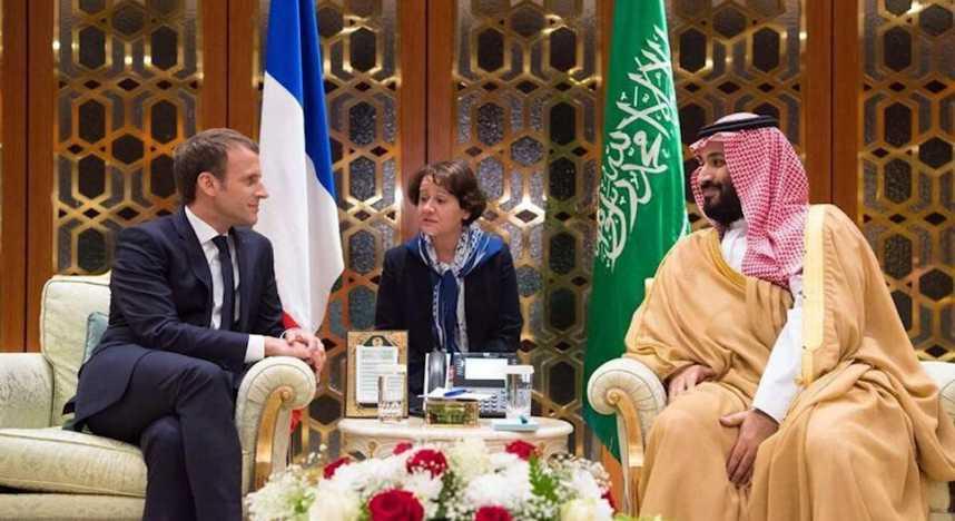 """Résultat de recherche d'images pour """"Mohammed ben Salmane Macron"""""""