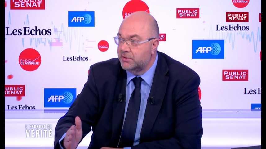 Illustration pour la vidéo Glyphosate : « La position du gouvernement est sur quatre ans », affirme Stéphane Travert