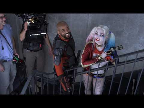 Margot Robbie working on a third Harley Quinn solo movie