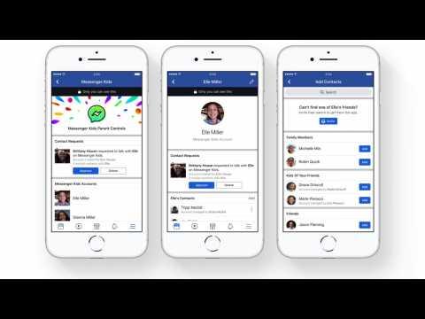 Facebook's New Messenger App for Kids Under 13