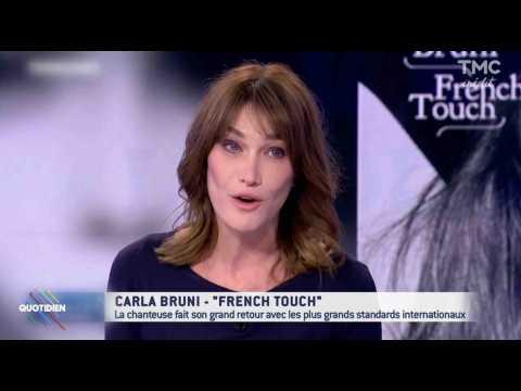 """Carla Bruni : Nicolas Sarkozy """"aurait fait prophète"""" - ZAPPING ACTU DU 17/11/2017"""