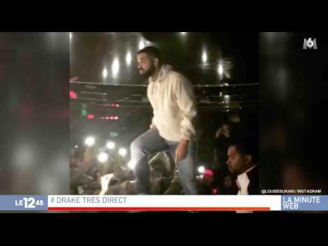 Drake dénonce une agression sexuelle en plein concert - ZAPPING ACTU HEBDO DU 18/11/2017