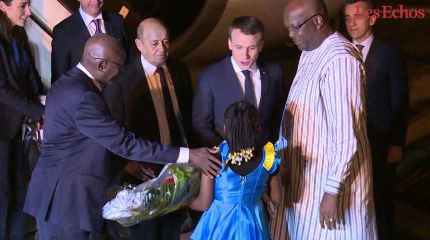 Illustration pour la vidéo Macron en Afrique : un pari en 5 chiffres