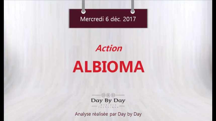 Illustration pour la vidéo Action Albioma : sous domination du courant vendeur - Flash analyse IG 06.12.2017