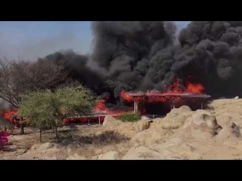 Pérou : un site archéologique millénaire détruit par un incendie