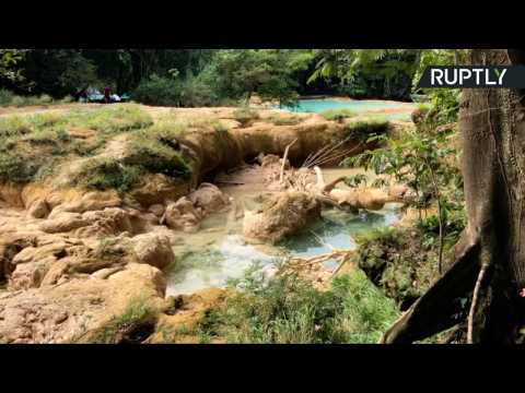 Chasing Waterfalls? Mexico's Agua Azul Falls Dry Up Suddenly