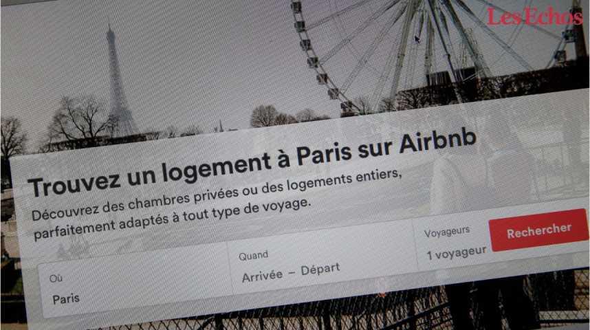 Illustration pour la vidéo Airbnb met en place un plafonnement automatique de la location au centre de Paris