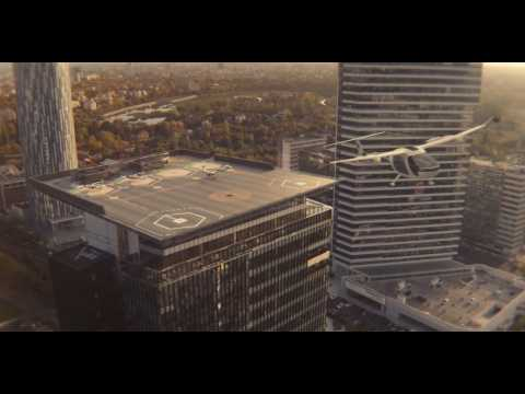 Uber s'associe à la Nasa pour créer des taxis volants
