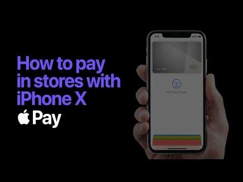 Apple Pay — How to pay with Face ID on iPhone X— Apple