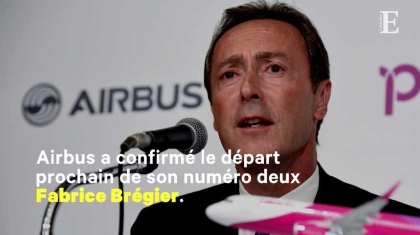 Illustration pour la vidéo Airbus : le numéro deux Fabrice Brégier remplacé par le patron des hélicoptères