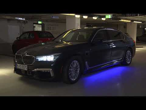 BMW Automated Parking - getting into parking space