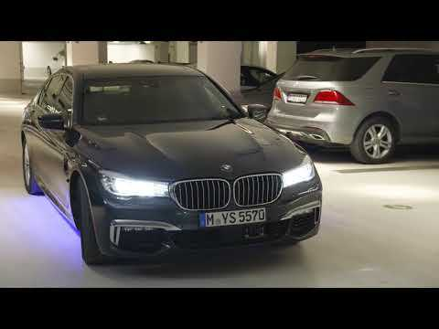 BMW Automated Parking - out of the parking space