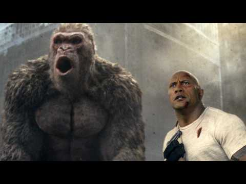 "Critics Are Ripping The Rock's New Movie ""Rampage"""