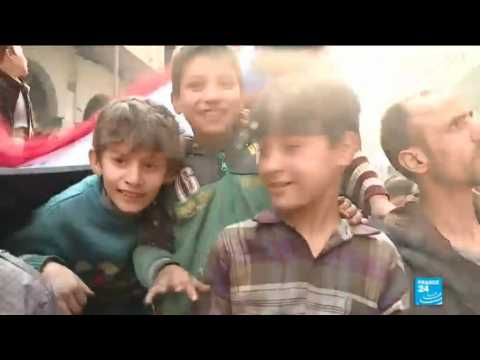 Syria: Assad''s regime invites foreign media to paint a different picture of war-torn Eastern Ghouta
