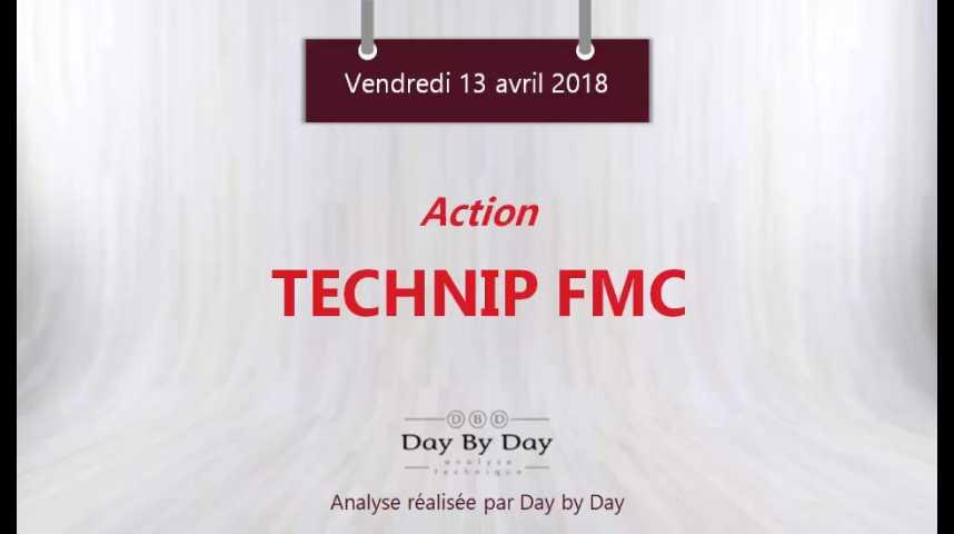 Illustration pour la vidéo Action Technip FMC : sortie haussière d'un triangle - Flash Analyse IG 13.04.2018