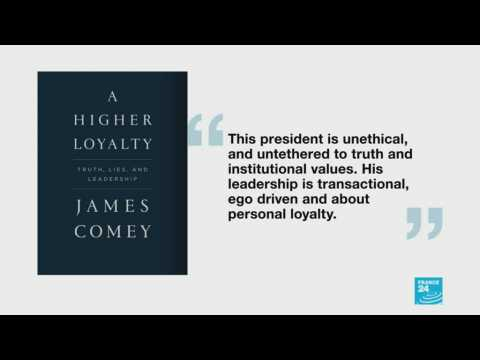 Comey says Trump ran White House like ''mob boss'' in new book