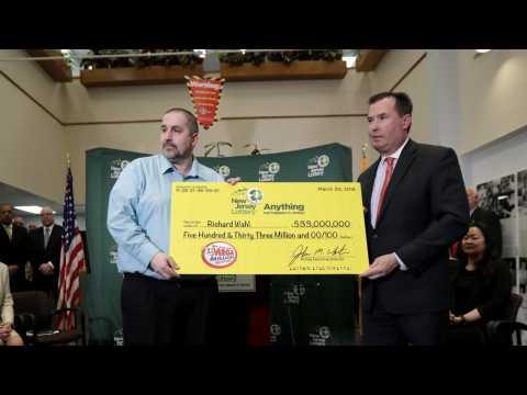 New Jersey Man Sole Winner of $533 Million Jackpot