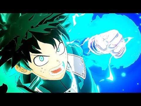 MY HERO ACADEMIA: One's Justice Gameplay Trailer (2018) PS4 / Xbox One / PC / Switch