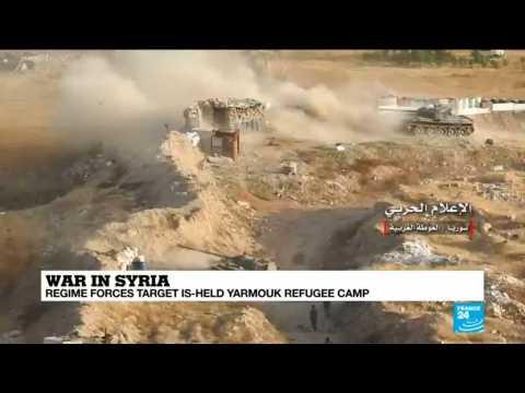UNRWA spokesman Christopher Gunness speaks to FRANCE 24
