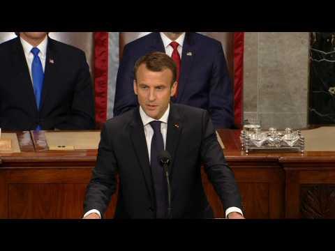 """Macron : """"L'Iran ne devra jamais posséder l'arme nucléaire"""""""