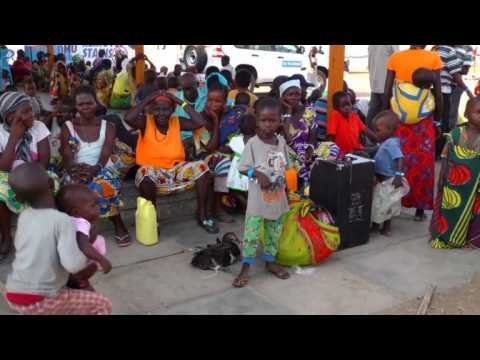 Refugees from DR Congo flee to safety in Uganda