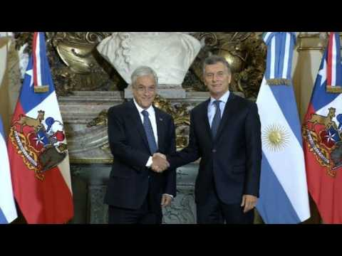 Argentine and Chilean presidents meet in Buenos Aires