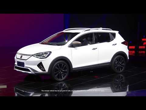 The new Sol E20X premiere on the eve of Auto China 2018