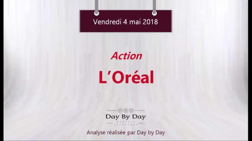 Illustration pour la vidéo L'Oréal - la tendance reste haussière - Flash Analyse IG 04.05.2018