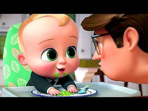 """THE BOSS BABY """"Green Bean Overdose"""" Clip + Trailer NEW (Back In Business, Animation)"""
