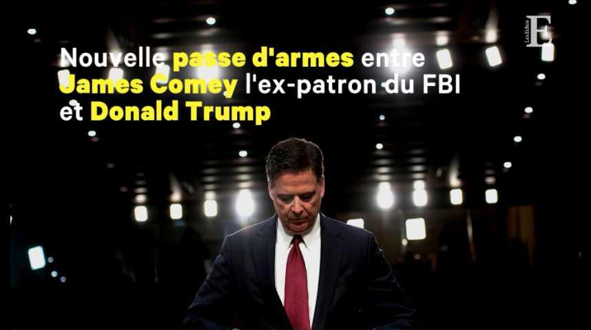 """Illustration pour la vidéo L'ex-patron du FBI juge Trump """"inapte moralement à être président"""""""