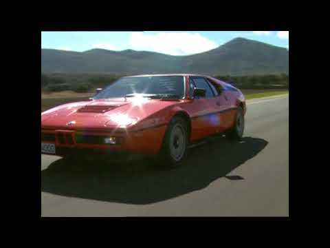 40 years of BMW M1 - Driving Video