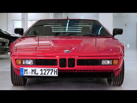 40 years of BMW M1 - Design Video