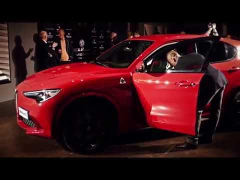 Alfa Romeo Stelvio Quadrifoglio enchants Venice Event