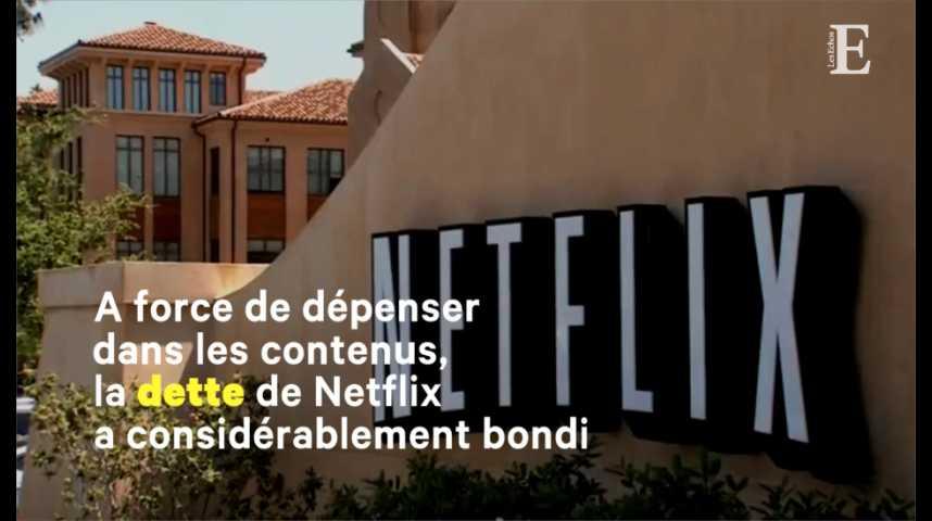 Illustration pour la vidéo Netflix : les chiffres de la guerre des contenus