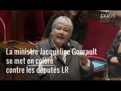 La colère de Jacqueline Gourault face à Christian Jacob à l'Assemblée nationale