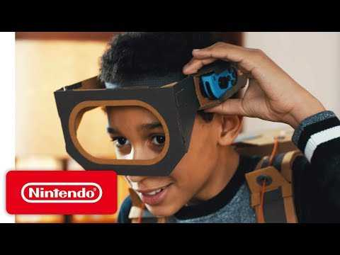 Make, Play, and Discover with the Nintendo Labo Robot Kit