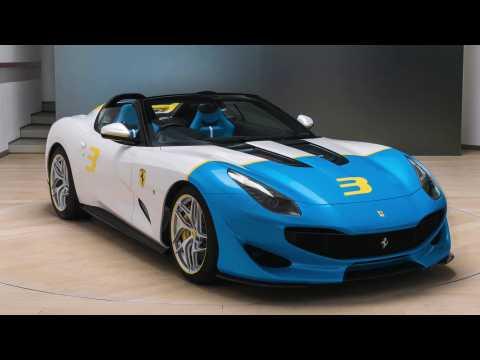 Ferrari SP3JC - Pure driving in pure culture in the exclusive V12 sports car