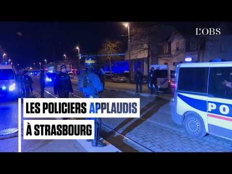 Chérif Chekatt abattu, les policiers sont applaudis à Strasbourg