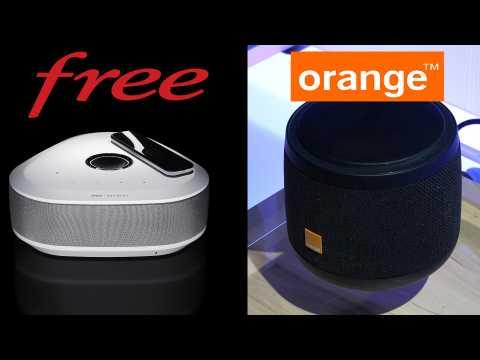 Orange et Free dégainent leurs nouveautés de fin d'année DQJMM (1/2)
