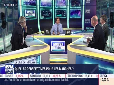 Le Club de la Bourse: Franck Dixmier, Pierre-Alexis Dumont, Philippe Waechter et Alexandre Baradez - 14/12