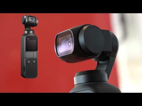 On a testé l'OSMO Pocket, la caméra 4K stabilisée de DJI