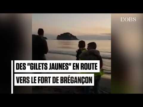 """Une quarantaine de """"gilets jaunes"""" tentent d'investir le fort de Brégançon"""