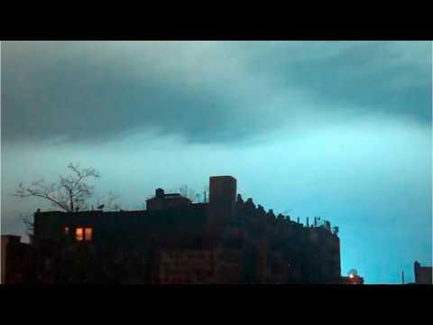 Goku Fans Think Super Saiyan Blue Caused NYC Glow