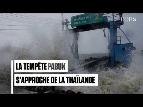 La tempête tropicale Pabuk menace de plus en plus la Thaïlande