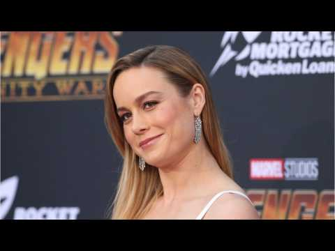 Captain Marvel Star Brie Larson Shares Post Workout Treat