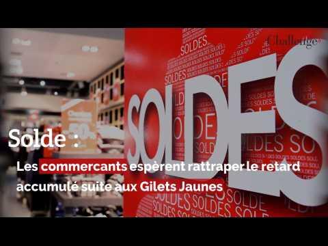 Soldes : Les commerçants espèrent rattraper le retard  accumulé suite aux Gilets Jaunes
